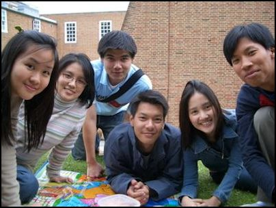 Exeter group student photo